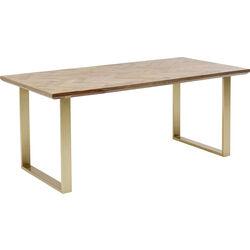 Table Parquet Brass 180x90