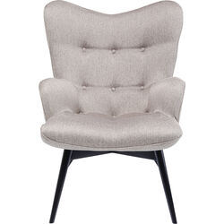 Fauteuil Vicky Loco taupe