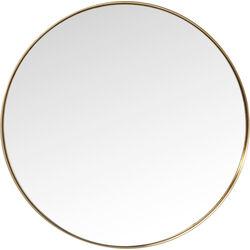 Mirror Curve MO Brass Ø100