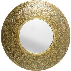 Specchio Victoria oro Ø110