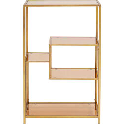 Shelf Loft Gold 100x60