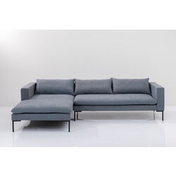 Corner Sofa Melrose Grey Left