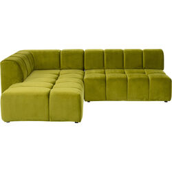 Corner Sofa Belami Green Left