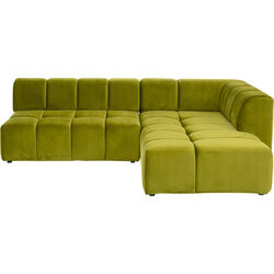 Corner Sofa Belami Green Right