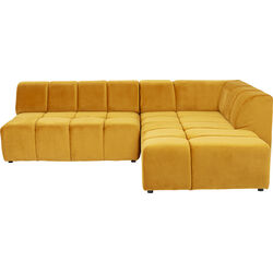Corner Sofa Belami Ochre Right