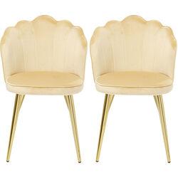 Chair Princess Beige (2/Set)