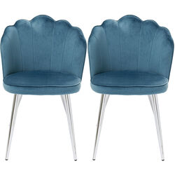 Chair Princess Blue (2/Set)
