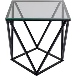 Side Table Cristallo Black 50x50cm