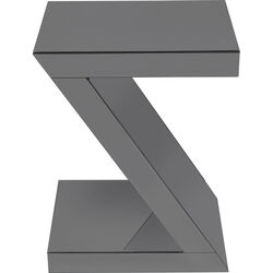 Side Table Luxury Z Grey 45x33cm
