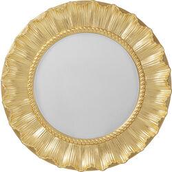 Wall Mirror Sun Ray Gold Ø84cm