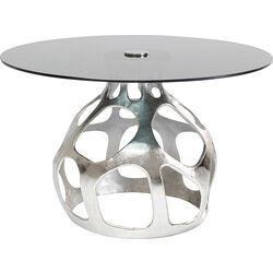 Table Volcano Silver Ø120cm