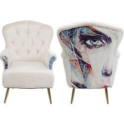 Armchair Portrait Cream