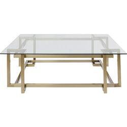 Coffee Table Clara Gold 120x120