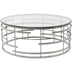 Coffee Table Jupiter Silver Ø100cm