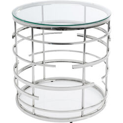 Side Table Jupiter Silver Ø55cm