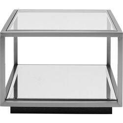 Side Table Luigi Small Silver 50x50cm
