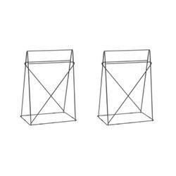 Table Base Polar (pair) Black 31x49cm