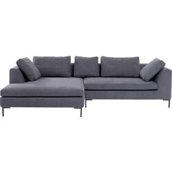 Ecksofa Gianni Grau Links