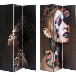 Room Divider Royal Headdress vs Snake Girl 120x180