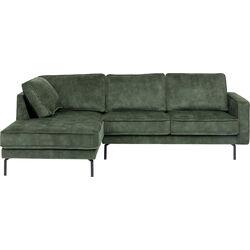 Corner Sofa Lucas Left Olive 231cm