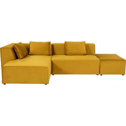 Corner Sofa Infinity Ottomane Amber Left