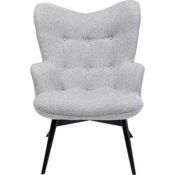 Armchair Vicky Dolce Light Grey