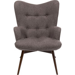 Armchair Vicky Dolce Brown