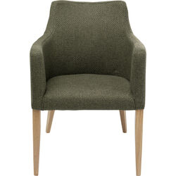 Chair with Armrest Mode Dolce Green